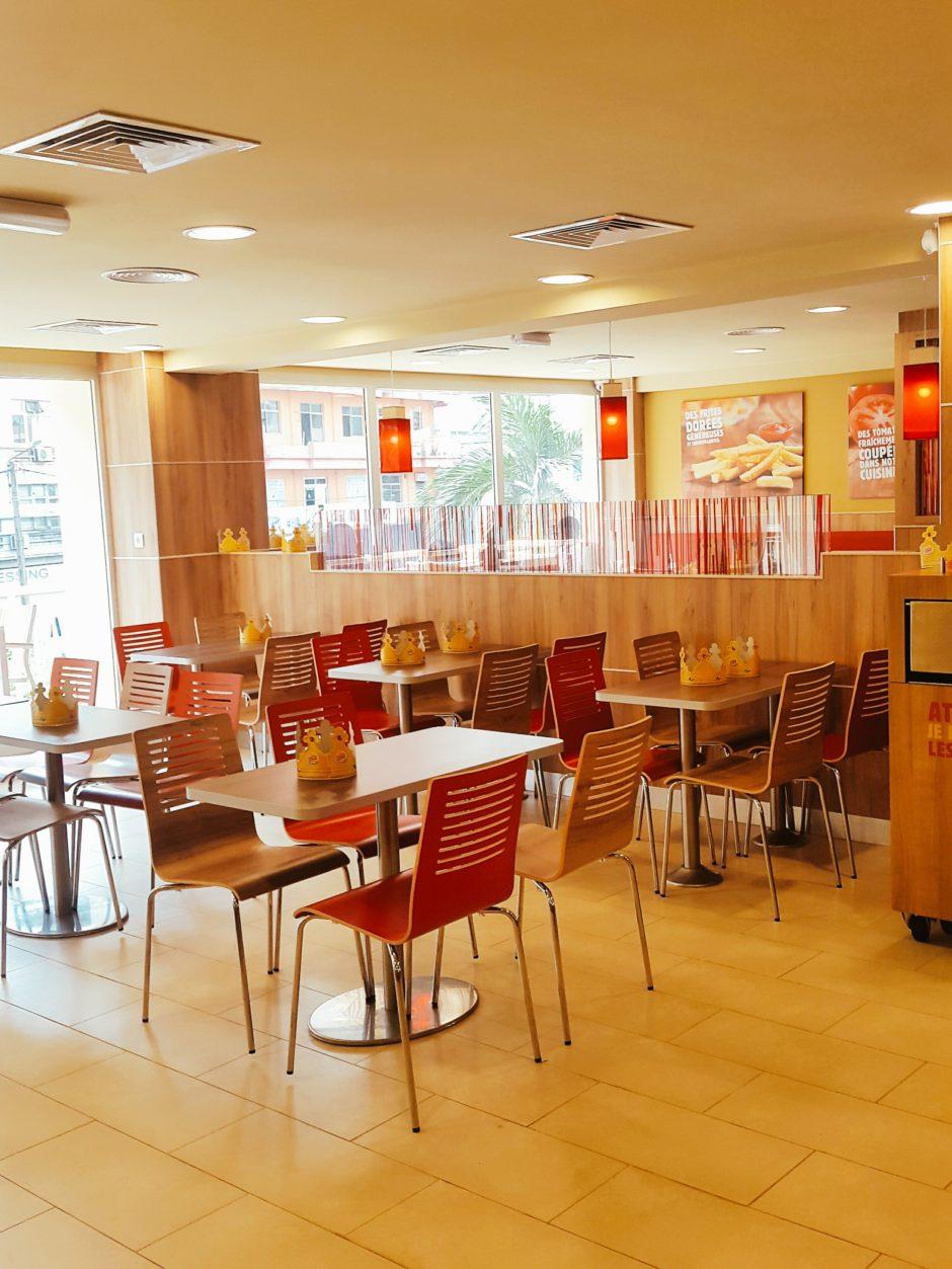 Gursha Abidjan & Burger King au Plateau